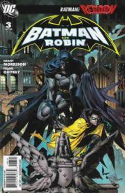 Batman And Robin #3 Retail Incentive Variant DC comic book